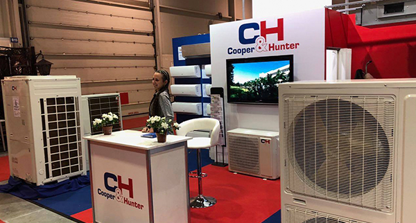 C&H presented the latest energy-saving climate equipment at the exhibition in Bulgaria.