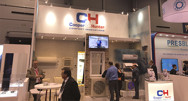 COOPER&HUNTER PARTICIPATED AT AHR EXPO 2018