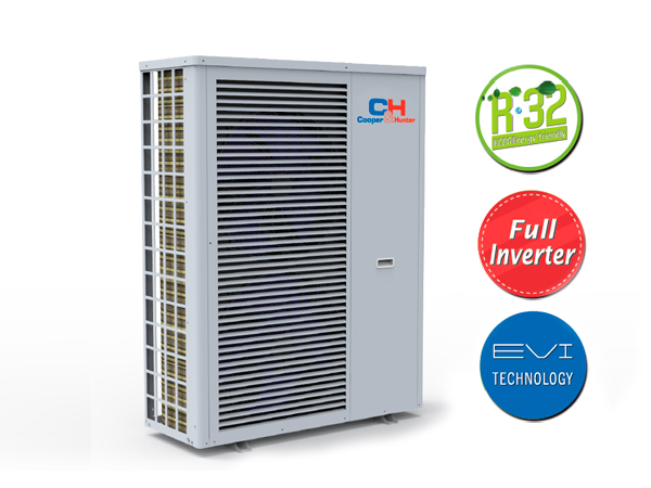 Introducing the new Cooper&Hunter Heat Pump: EVIPOWER Inverter R32!